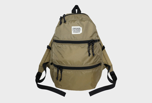 210D DOUBLE ZIP BACK PACK