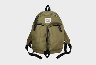 420D TWINS BACK PACK 二つのポケットが特徴のバックパック